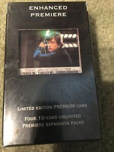 Star Wars Enhanced Premiere Limited Edition 4  15 - Card Expansion Packs
