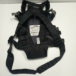 Infantino Swift Baby Carrier Classic, Black Hands Free Infant Sling  8-25 lbs