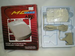 MG MOUSE FOR PC/XT/286/386 & PS/2