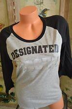 Victoria's Secret love pink t shirt L Chicago White sox Designed Kisser