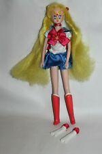 Sailor Moon Igel Puppe Doll blond aus 1999 vintage Manga Cosplay 29 cm RAR