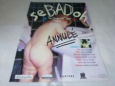 SEBADOH - BAKESALE TOUR!!!!!!!!!!!!!!PUBLICITE / ADVERT