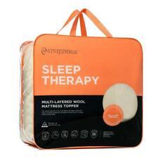 MiniJumbuk Sleep Therapy 100 Australian Wool Mattress Topper Single