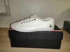 Baskets LE COQ SPORTIF DEAUVILLE LP WHITE COTTON Taille.36