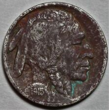 New Listing1915-S Buffalo Nickel Semi-Key Date > Us 5c Coin << Lot 214