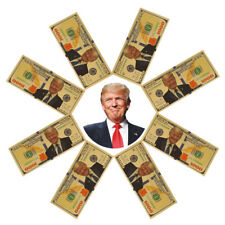 Crafts Banknote Gold Foil US Dollars Trump Commemorative Coin Collections
