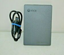 Seagate 2TB Game Drive For Xbox One (SRD0NF1) Gray/Black USED With Cable