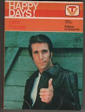 collana HAPPY DAYS - CARO FONZIE romanzo editrice La Sorgente 1978