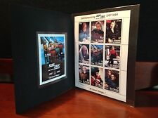 Star Trek Tng All Good Things St. Vincent & The Grenadines Stamp Collection