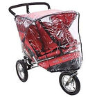 Universal nipper double 360 stroller raincover side by side pvc made in UK New