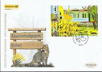 BRD 2009 Deutsche Post FDC MiNr. Block 74   Nationalpark Eifel.