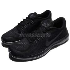 the best attitude dbce6 c5719 Nike 15 Flex Run RN 2017 Running Shoes Trainers Black White Anthracite Mens