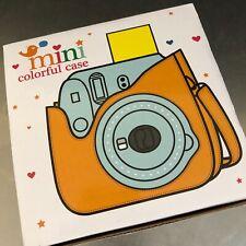 Fuji Instax Mini Case Soft Smokey White NIB Camera Accessory Strap Photography