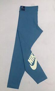 Nike Women's Authentic Training Tight Fit Legging Light Blue XL