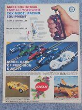 VINTAGE 1965 1/32 SLOT CAR FORD GT CHAPARRAL FERRARI BRM ADVERTISEMENT