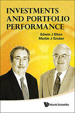 Investments and Portfolio Performance, Very Good, J, Elton Edwin Book