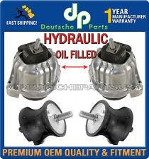 HYDRAULIC ENGINE MOTOR + TRANSMISSION MOUNTS for BMW E90 E91 22116760330 L+R SET