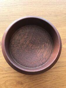 Circular Wooden Bowl