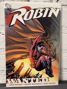 ROBIN Wanted TPB (DC Comics) VF- BATMAN Rare & OOP