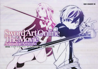 SWORD ART ONLINE THE MOVIE COPYRIGHT ILLUSTRATION COLLECTION ANIME BOOK JAPAN