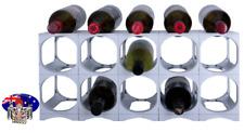 CellarStak WHITE Plastic Wine Rack - 12/15 Bottles