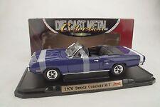 1:18 Road Signature - 1970 Dodge Coronet R/T Convertible Púrpura Rareza NUEVO /