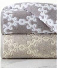"NWT John Robshaw Totem Woven Jacquard Design Bath Towel, 30""x56"" In Turkey"