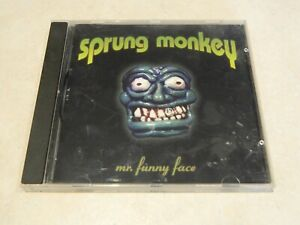 Sprung Monkey Mr Funny Face CD [Australian version]