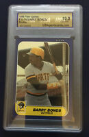 💥1986 Fleer Update BARRY BONDS ROOKIE RC #U-14 10 GEM MINT GRADED💥