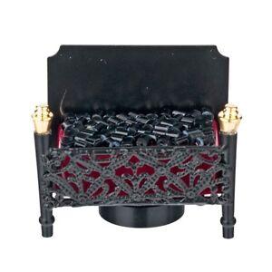 Light - LED Fireplace Firebox Light / Lamp  2341 dollhouse 1/12 scale  metal