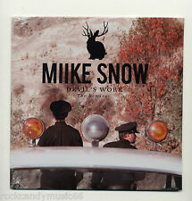 "MIIKE SNOW - DEVIL'S WORK / NEW/SEALED 7"" 45 RPM SINGLE / 2012 RECORD STORE DAY"