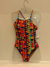 N.W.T Sporti Theory Micro Back One Piece Swimsuit Size 28