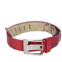 cintura donna BOLLIVER 90 rosso fucsia pelle DT791-90