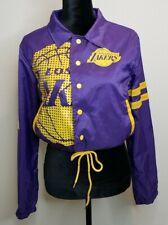 NBA Los Angeles Lakers Windbreaker Jacket Sz Small