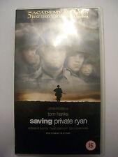 SAVING PRIVATE RYAN [1998] VHS – Steven Spielberg, Tom Hanks - BARGAIN