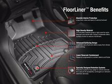 WEATHERTECH FLOOR MATS 440933 TUNDRA 2007 + CREW REAR BLACK