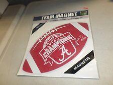 NCAA Alabama Crimson Tide National 2015 Champions Team Magnet