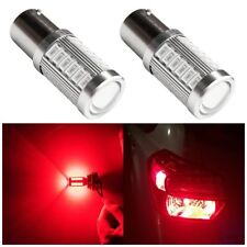 2X 1157 BAY15D LED Strobe Bulbs Projector replacement for Tail Brake Light Red