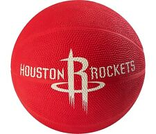 Nba Houston Rockets spalding mini rubber basketball red color size 3