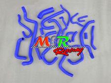 For 1989-1994 Nissan Silvia/180SX/200SX S13 CA18DET silicone radiator hose BLUE