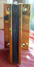 Glastür Pendelband C600 für Glaspendeltür Messing poliert