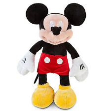 """NWT Disney Store Mickey Mouse Plush Toy Doll Small 12"""" Tall"""