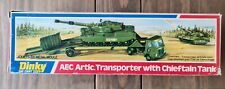 DINKY AEC ARTIC TRANSPORTER WITH CHIEFTAIN TANK  BOXED