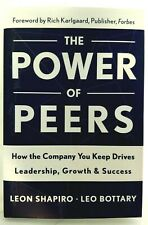 THE POWER OF PEERS Leon Shapiro LEO BOTTARY Signed Inscribed FIRST EDITION Mint