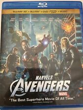 The Avengers (3D Blu-ray/Blu-ray 2012, 4-Disc Set) No DVD