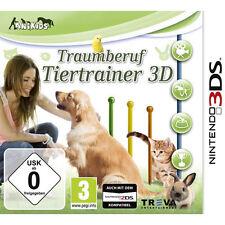 Nintendo 3DS Dual Screen Spiel ***** Traumberuf Tiertrainer 3D *******NEU*NEW*55