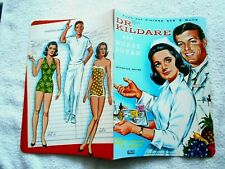DR. KILDRE AND NURSE SUSAN PUSH-OUT CLOTHES AND 3 DOLLS-LOWE-1960's
