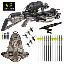 TenPoint Havoc RS440 XERO Crossbow Pro Package w/ 12 Arrows, Broadheads and More