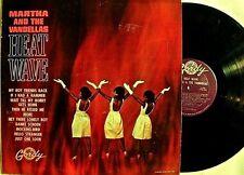 "MARTHA & VANDELLAS~""HEAT WAVE""~""U.S. RARE""ORIGINAL GORDY-907"" VG+ ~ LP"