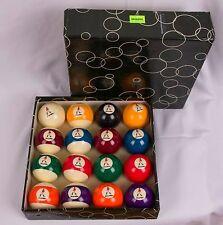 RARE Vintage set of Johnny Walker Scotch Billiard Balls Pool 16/set Aramith